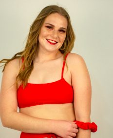 bandeau red